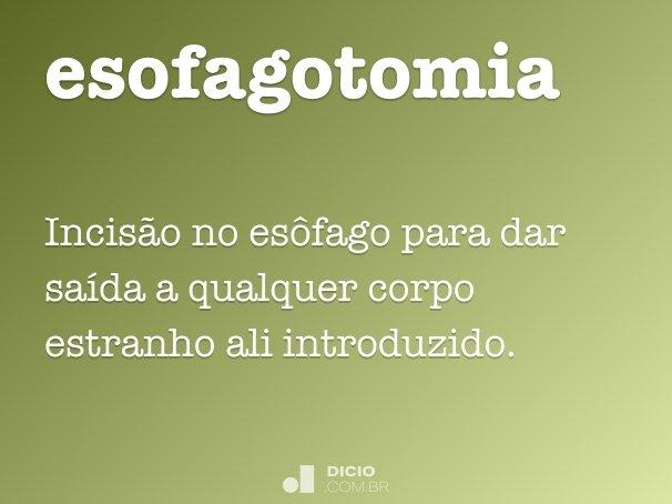 esofagotomia