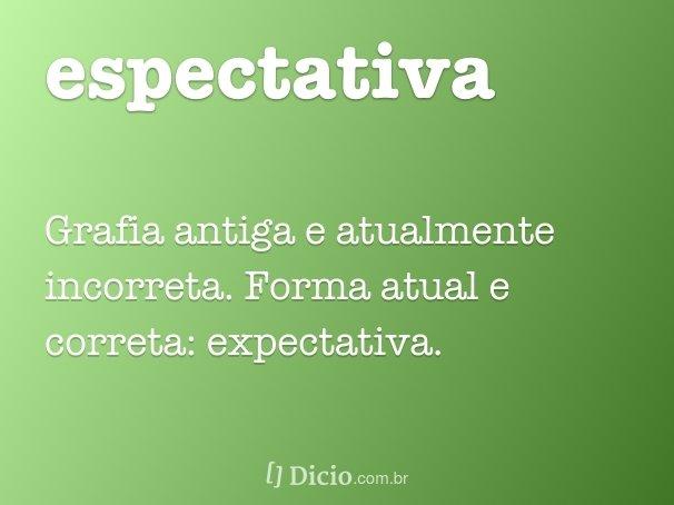espectativa