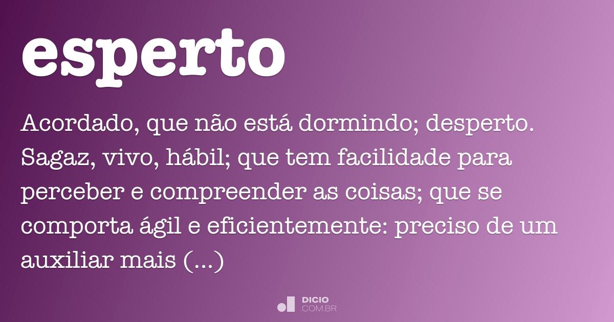 Esperto Dicio Dicionário Online De Português