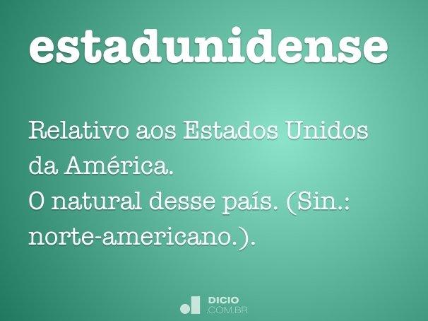 estadunidense