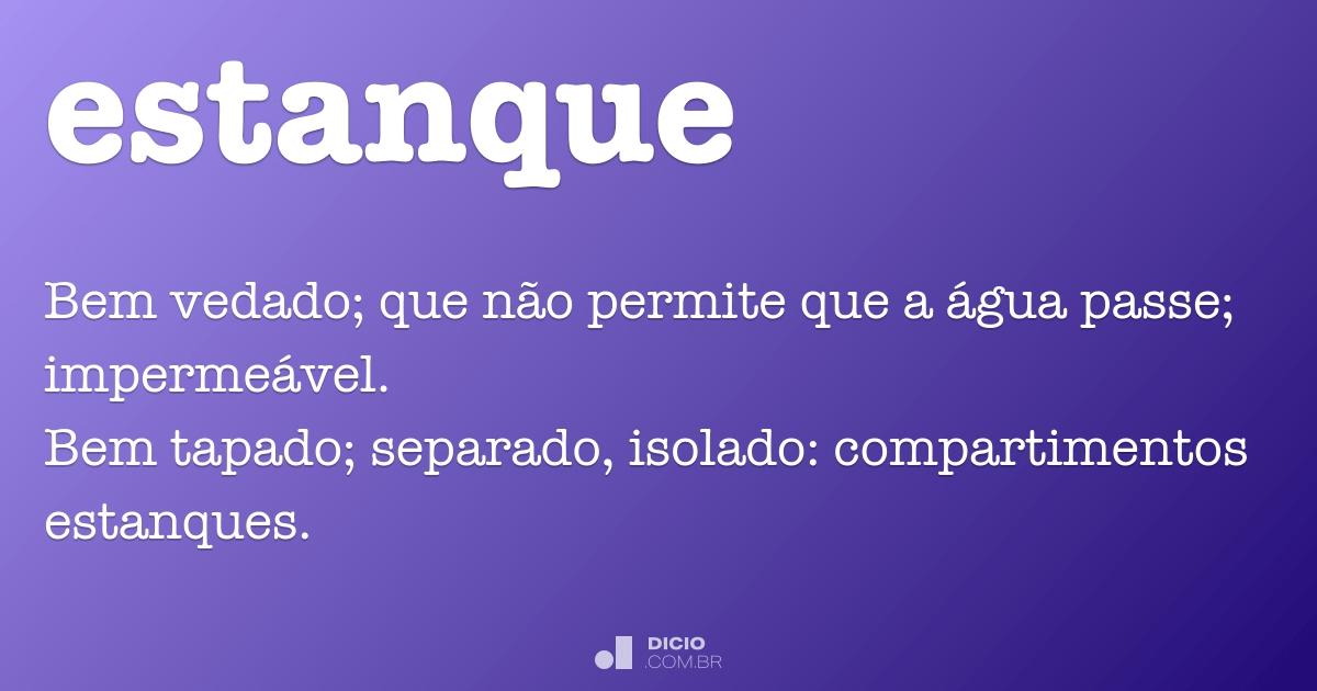 Estanque dicion rio online de portugu s for Estanques online