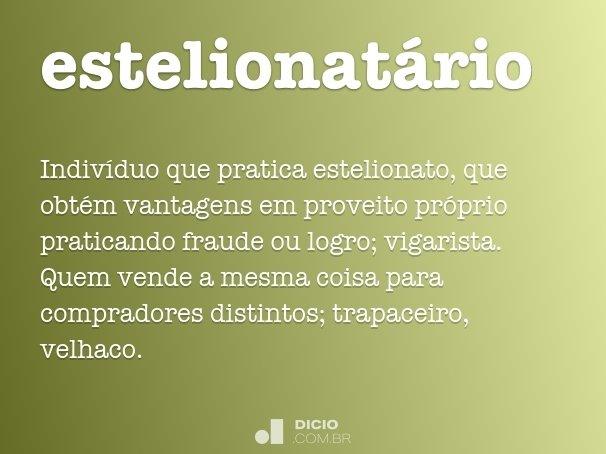 estelionatário