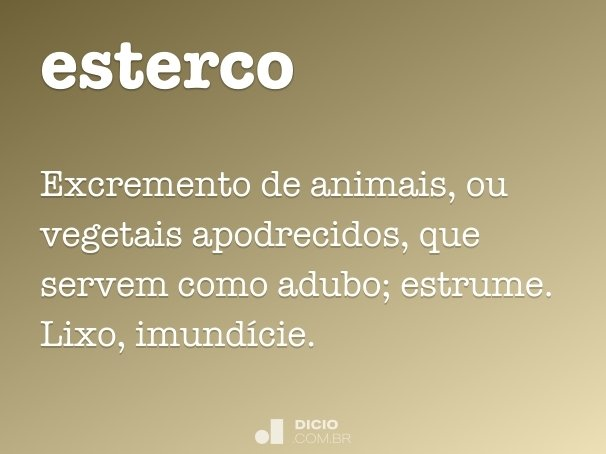 esterco