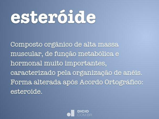 esteróide