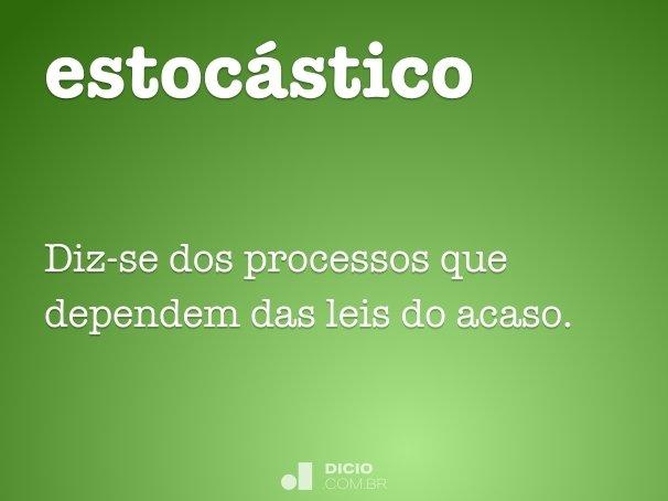 estoc�stico