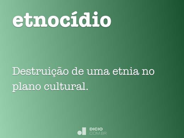 etnoc�dio
