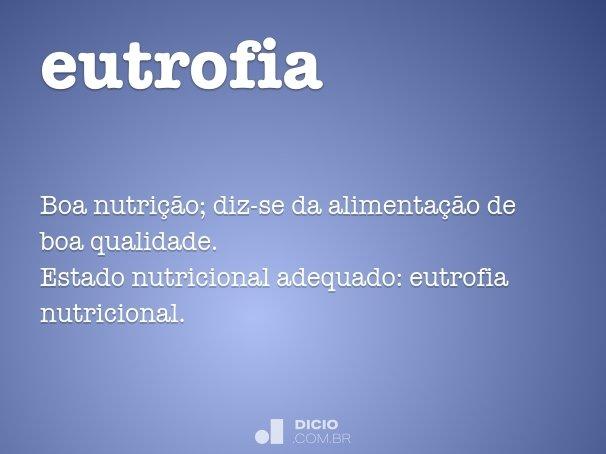 eutrofia