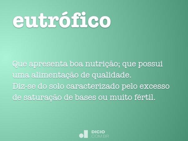 eutr�fico
