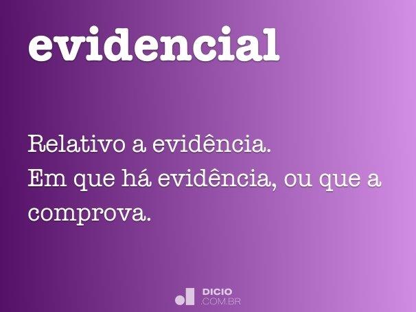 evidencial