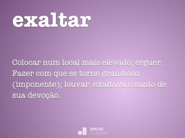 exaltar