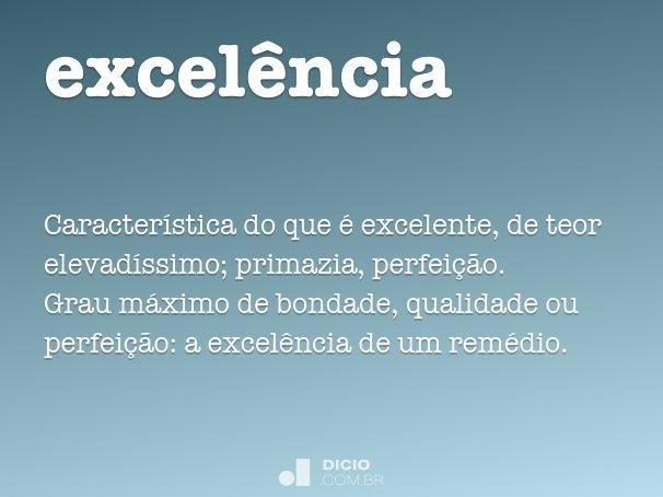 excel�ncia