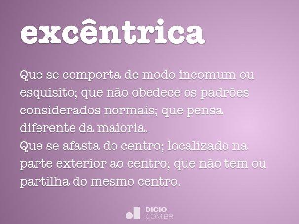 excêntrica