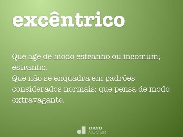 exc�ntrico