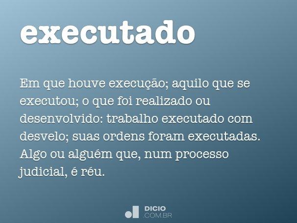executado