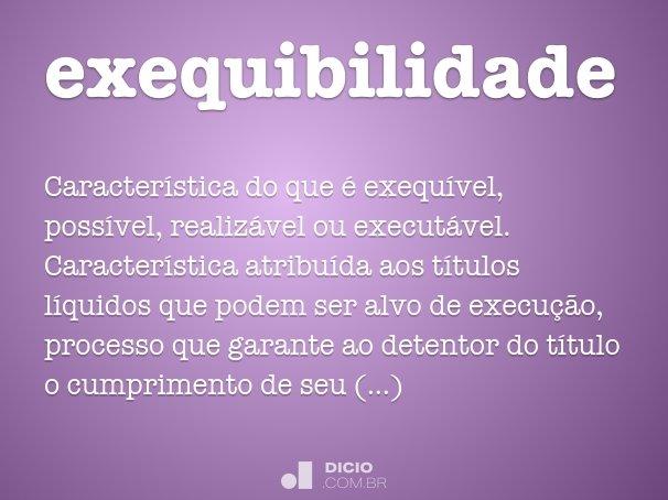 exequibilidade