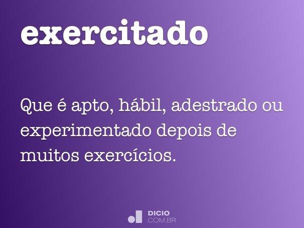 exercitado