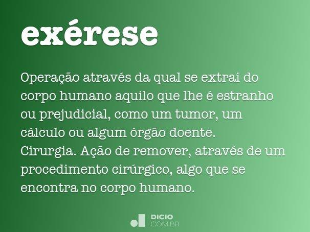 ex�rese