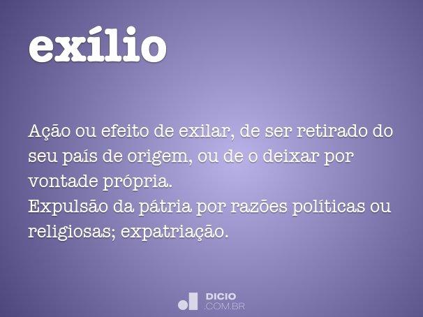 ex�lio