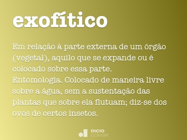exof�tico