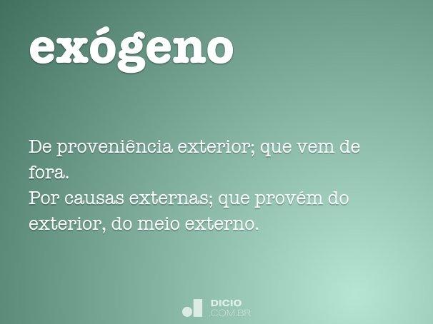 ex�geno