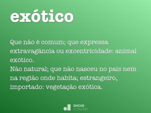 ex�tico