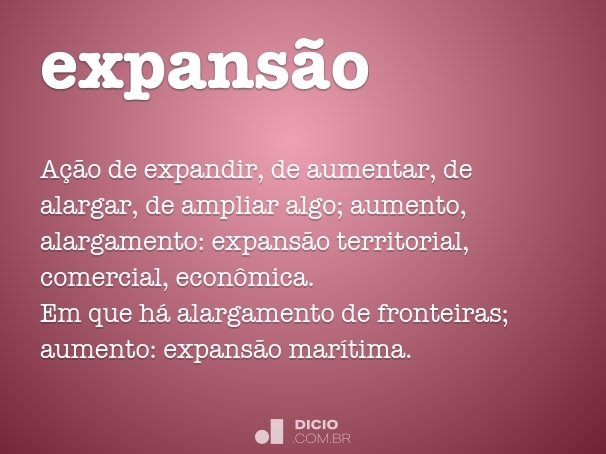 expans�o
