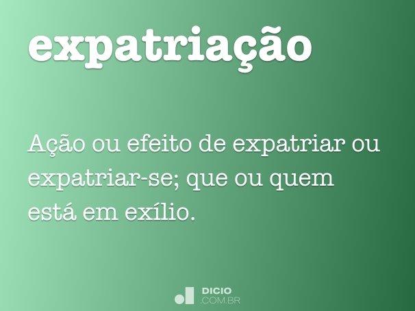 expatria��o