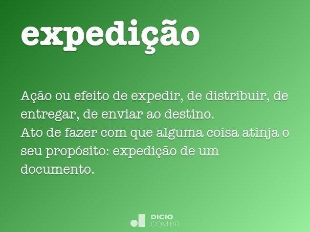 expedi��o