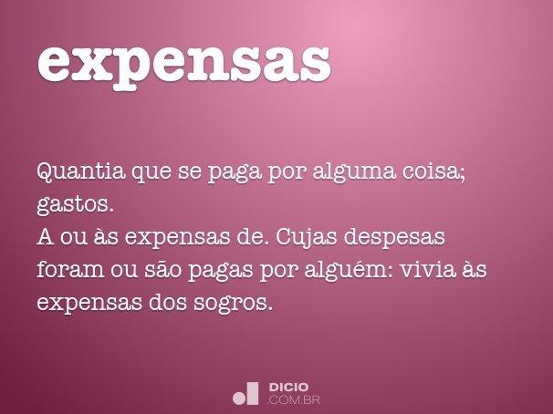 expensas