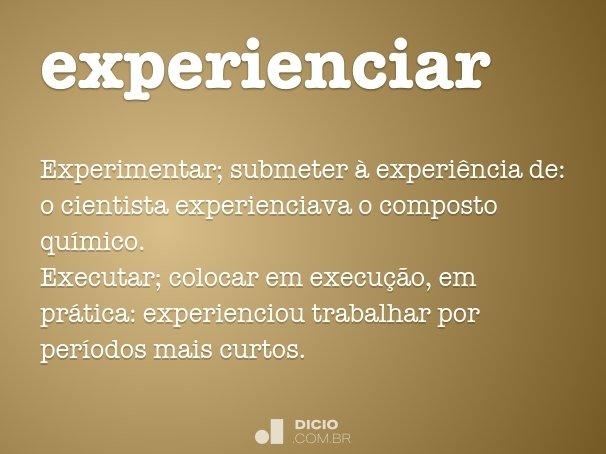 experienciar