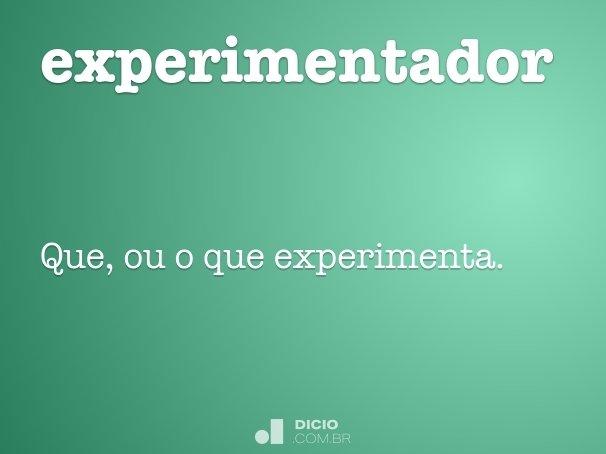 experimentador