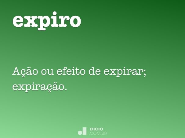 expiro
