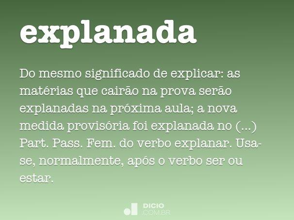 explanada