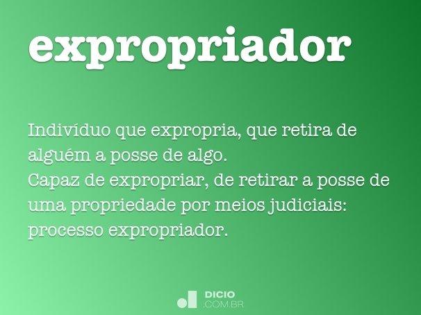 expropriador