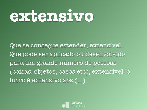 extensivo