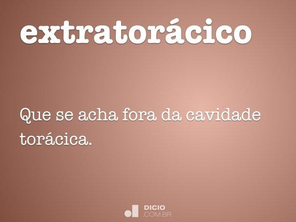 extratorácico