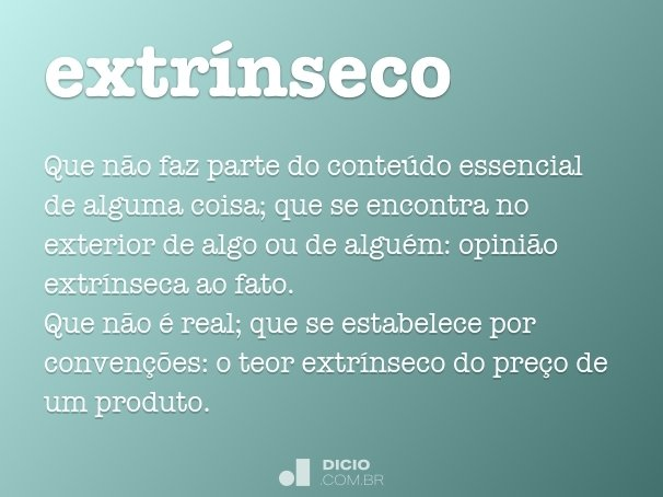 extr�nseco