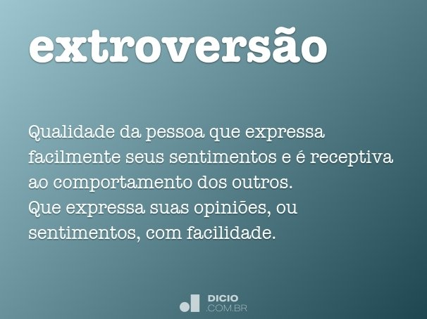 extrovers�o