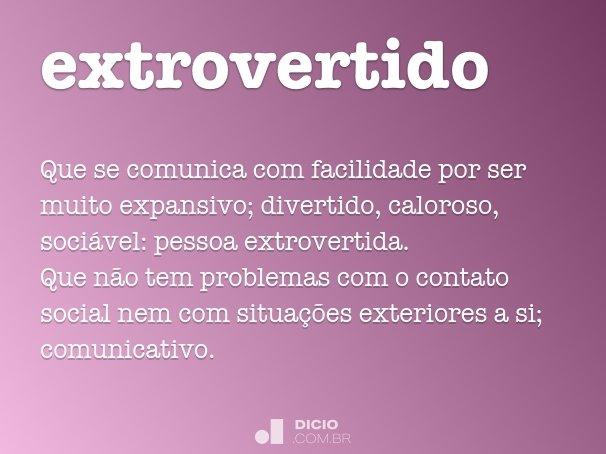 extrovertido