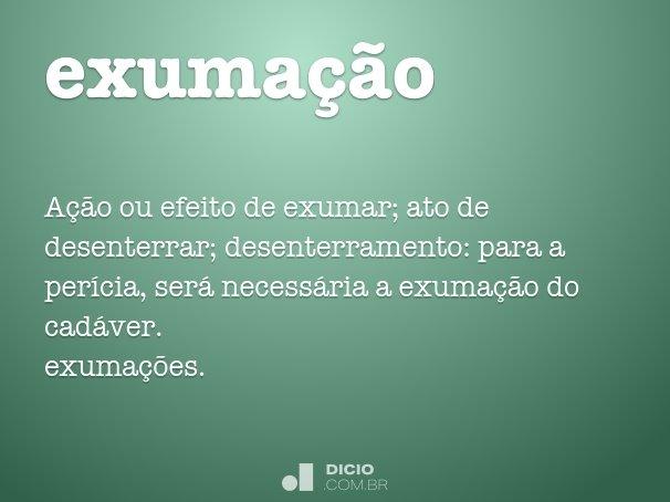 exuma��o