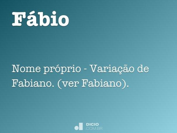 Fábio