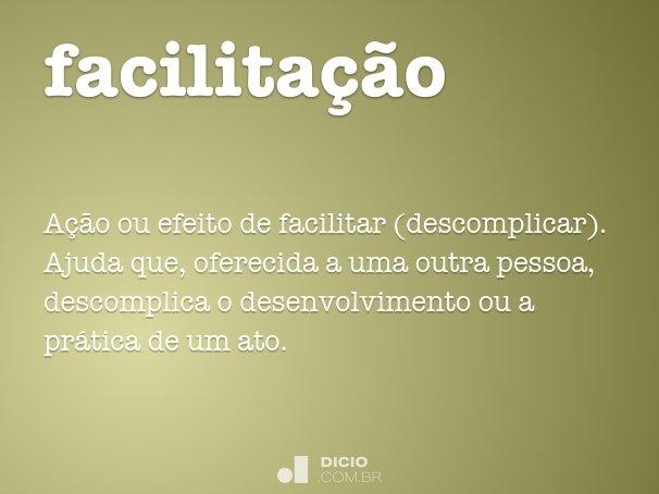 facilita��o