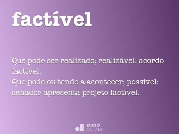 fact�vel