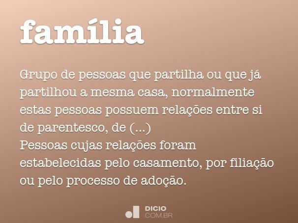 fam�lia