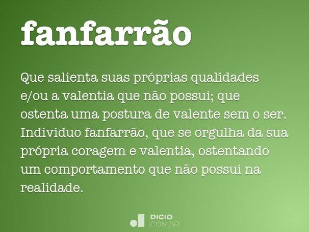 fanfarr�o