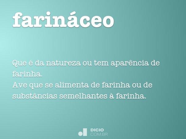 farináceo