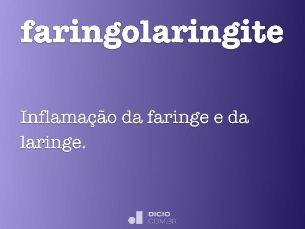 faringolaringite