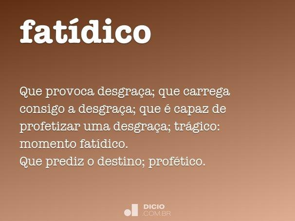 fat�dico