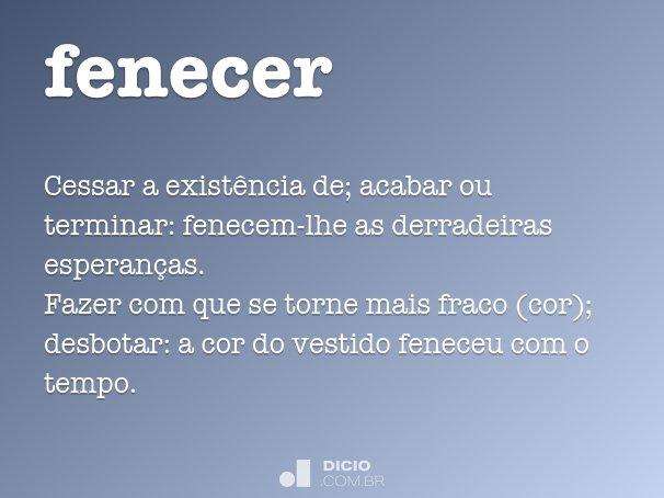 fenecer