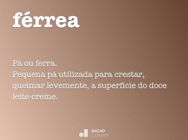 férrea